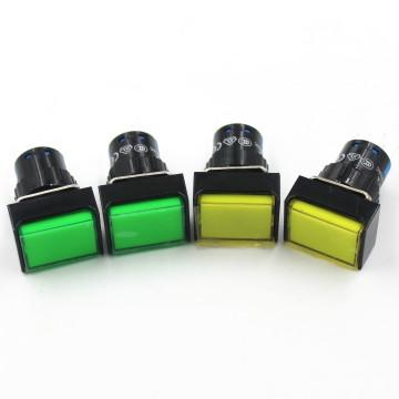 Las1-a Square Switch Illuminated Push Button