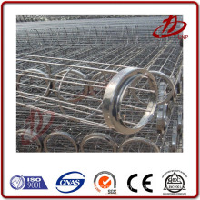 Dust collector bag filter cages spraying plastic filter bag cage