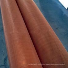 Malla de alambre de cobre puro de cobre malla 200