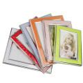 Горячие продажи 5 x 7 дюйма ПВХ фото рамка разных цветов