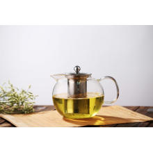 Teapot De Vidro Blooming Loose Leaf Removable Infuser