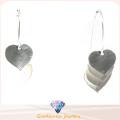 2015 Love Earring Nueva joyería de moda para el pendiente de plata de la mujer 925 (E6580)