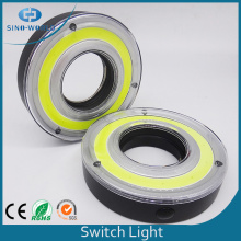 COB LED Switch Light Com um mosquetão
