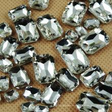 Diamant acrylique rectangulaire 18 * 25mm