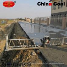 Chine nivellement de route concrète de charbon / machine vibrante de chape