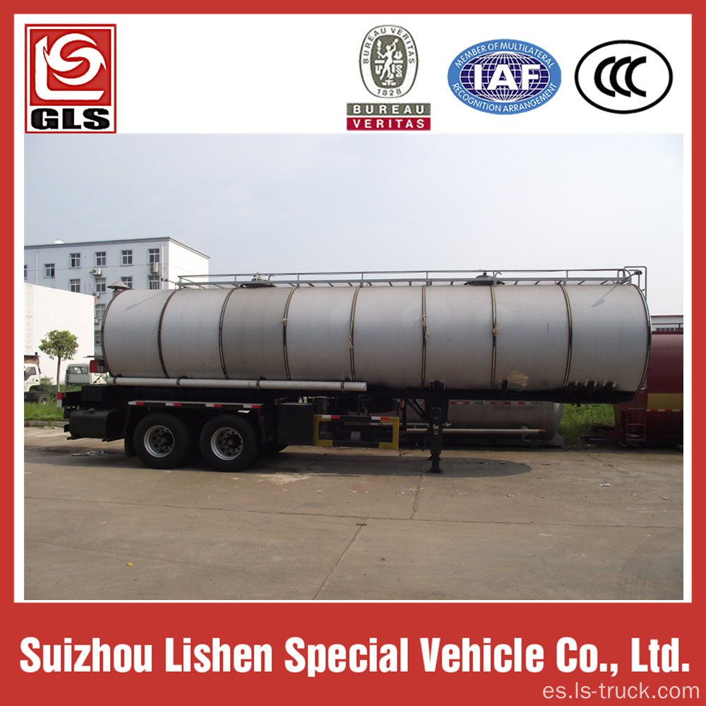 Liquid Caustic Soda Tanker trailer 20M3