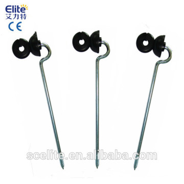 wood post screw-in Insulators/electric fence energizer insulators/insulators for fence line/wire/tape