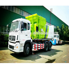 GNG Dongfeng Hanging tambour type camion à ordures / NG scellé camion à ordures / CNG camion à ordures / CNG garbage compresseur / NG ordures
