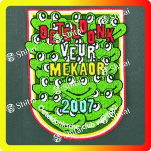 Patch bordir katak 2007