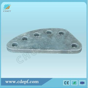 Adjusting Plate for Transmission Line Hardware Fitting