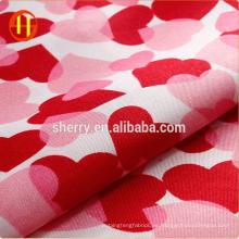 Al por mayor prenda de tela de satén estampada floral