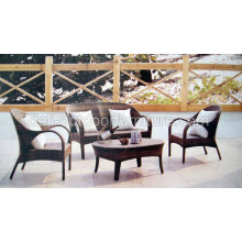 Metal Rattan Modern Garden Furniture Designer