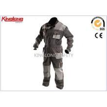 Elastic Waist Factory Worker Uniform Mechanics Canvas Overa