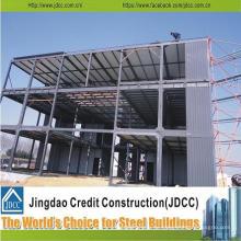 Almacén de estructura de acero prefabricado, edificio de metal, sala industrial