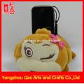 Забавный держатель мобильного телефона плюшевые игрушки обезьяна чучела животных милый держатель телефона держатель сотового телефона