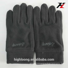 2015 winter women/men wholesale polar fleece gloves