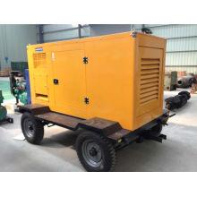300kw diesel generador portátil con motor Cummins