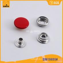 Painted Bunte Snap Button für Kleidungsstück und Jacke BM10690