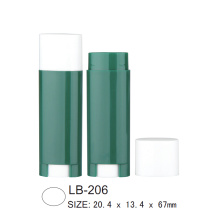 Oval Empty Lip Balm Tube