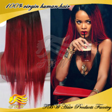 New design high quality straight color #1bT#99j brazilian virgin lace wigs