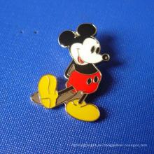 Insignia suave del metal del esmalte de Mickey Mouse (GZHY-SE-022)