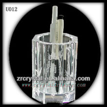 K9 Octagon Crystal Pen Holder