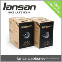 Twisted Pair cable, UTP CAT5E Data Cable, ETL verified, Gigabit, LANSAN
