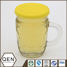 Honeycomb honey glasscup 312g