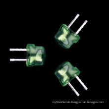 Strohhut 4.8mm führte grüne hohe helle lichtemittierende Diode