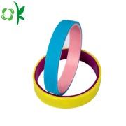 Elegant 2 Layer Student Sport Silicone Straps Bracelet