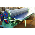 Rolo de painel corrugado tipo barril dá forma à máquina
