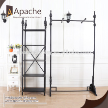 Well-designed for Garment Display Racks,Garment Rack,Clothes Rack Manufacturer in China clothing store display stand for sale export to Bangladesh Exporter