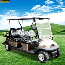 Carro elétrico do golfe do chassi de alumínio de 6 pessoas