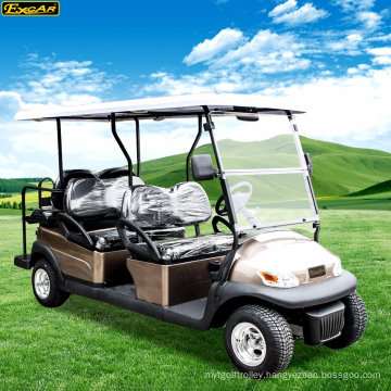 Excar Brand 6 Seaters Small Electric Golf Car for Sale