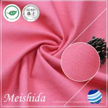 55% Ramie 45% algodón 21 * 21/52 * 58 Fábrica al por mayor de la tela