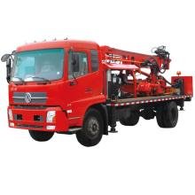 Plataforma de perforación de pozos de agua montada en camión 300M