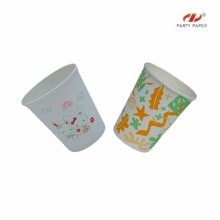 Company Logo Customized Paper Cups With Cartoon