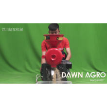 DAWN AGRO Household Pulverizer Fresh Herb Grinder Corn Grinding Machine with Gasoline Engine