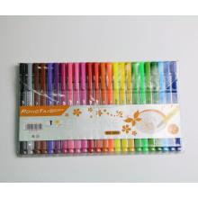Sistema de la pluma de la caligrafía de 24PCS Multi Colors para dibujar