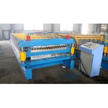 Glalvaniserad IBR Corrugated Roof Sheet Machine