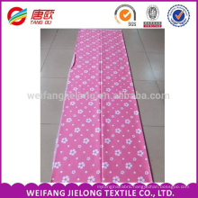 Cheap white floral stock printing for cotton bedding fabric