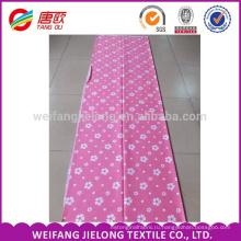 Дешевые белый цветочный складе для печати хлопок постельные принадлежности ткань