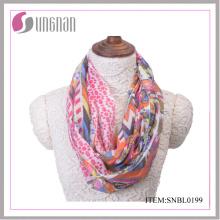 2016 Vintage frische Damen Baumwolle Infinity Schal (SNBL0199)