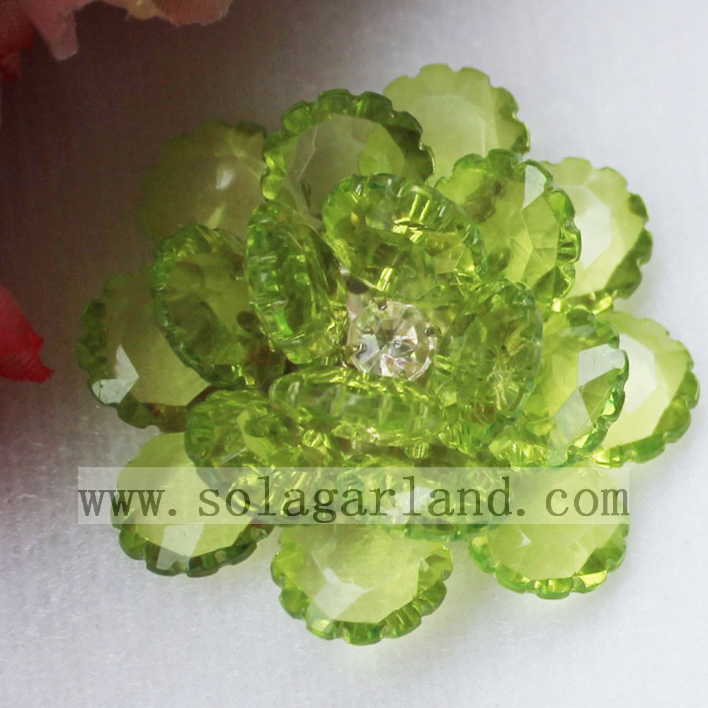 41MM Acrylic Artificial Flowers