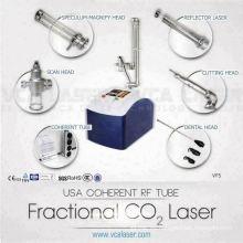 Eliminación de cicatrices píxel médico fraccional láser de CO2