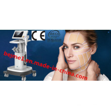 Hifu High Intensity Focused Ultrasound Beauty Salon Equipment for Triple Layer Lifting Effect System