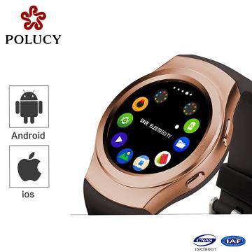 Pulseira moda relógios chamada mensagem lembrete pedômetro inteligente relógio esportivo