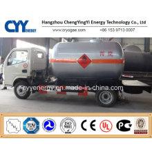 New China LNG Liquide Oxygène Nitrogène Argon Dioxyde de carbone Combustible Semi-remorque