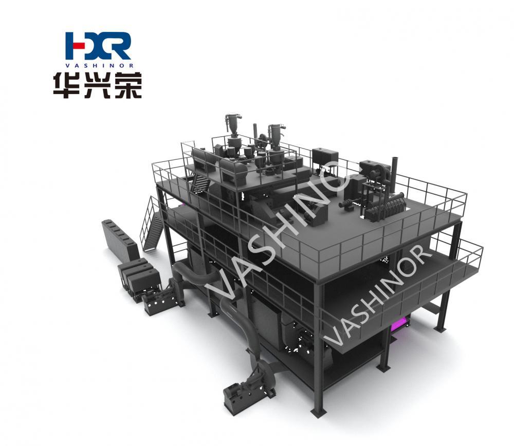 Ss Non Woven Making machine
