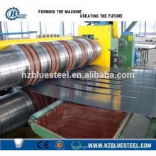 High Speed Aluminum Steel Coil Slitting Line / Steel Plate Slitting Machine For Sale